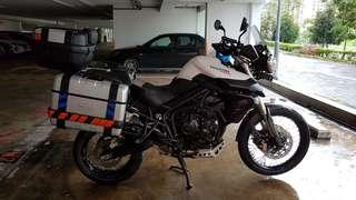 *price reduced* Triumph tiger XC 2013 (COE till Dec 2023)