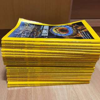 National Geographic Magazines (May 2010-Aug 2012)