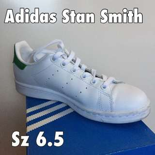 Adidas Stan Smith (green) Sz 6.5