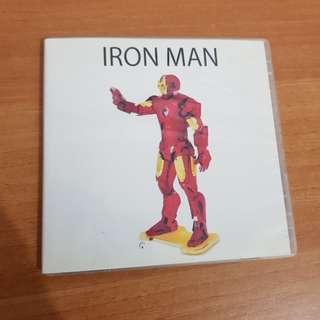 Iron man diy metallic figurine