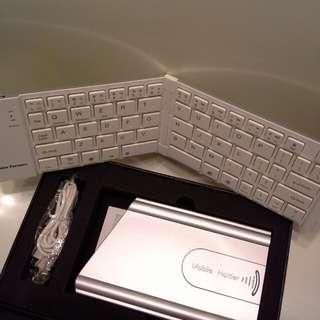 全新萬用無線藍芽摺叠式/摺合式鍵盤Universal Wireless Bluetooth Foldable Keyboard