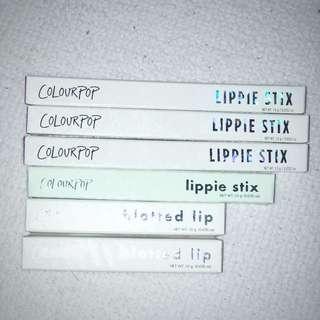 colourpop lippie stix/blotted lip