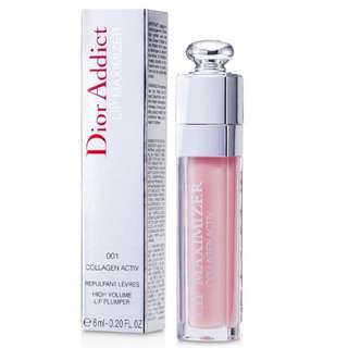 Dior Addict Lip Maximizer Collagen Active High Volume Lip Plumper #001 Pink [REGULAR] (6ml)