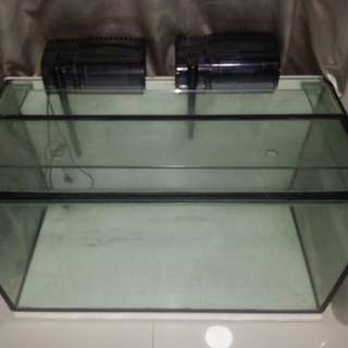 3 feet ft fish tank with accessor