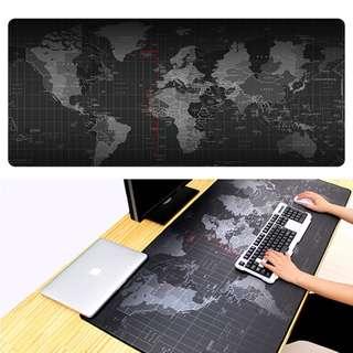Desktop Mat (World Map Design) ,High Quality Mouse Pad