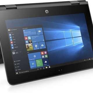 HP x360 convertible 11' touch screen processor intel pentium n3710