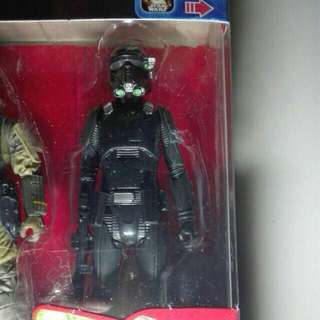 "Star Wars Imperial Death Trooper Rogue One Action 2016 Figures 3.75"" 3 3/4-inch Hasbro TRU"