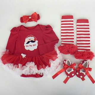Christmas Tutu Dress Set
