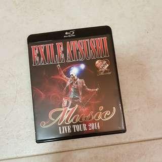 Exile Astushi Live 2014 - Blu Ray