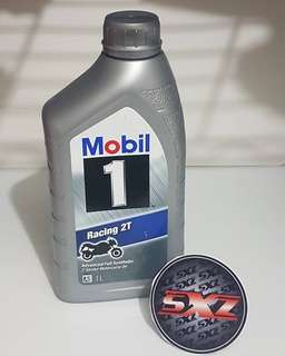 Mobil 1 Racing 2T (Free Doorstep Delivery For 3 Bottles Purchase)