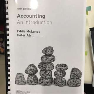 Accounting An Introduction (photocopied)