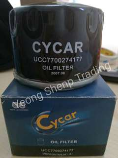 Oil filter proton Waja 1.8 renault
