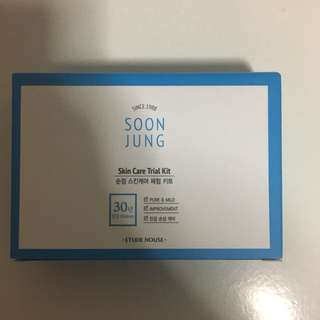 BRAND NEW UNOPENED Etude house Soon Jung travel kit