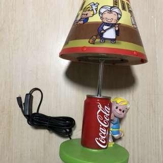 Coca-Cola x Nissin 出前一丁坐枱燈