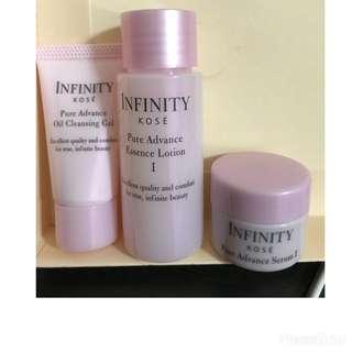 Kose Infinity Skincare Travel Set
