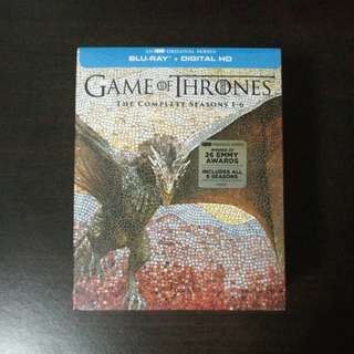 Game of Thrones The Complete Season 1 - 6