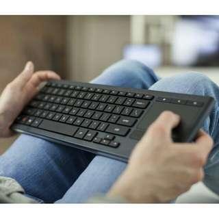 Logitech K830 HTPC keyboard