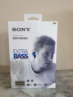 Sony MDR-XB50BS EXTRA BASS Sport Bluetooth In-Ear Headphone