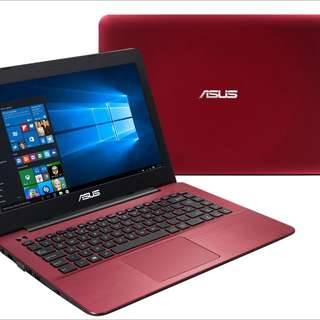 Used Red Asus I3