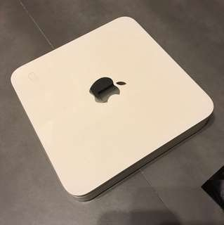 Used time capsule 500gb wireless hardisk and router