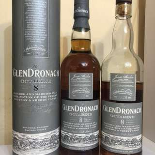 威士忌 Glendronach Octarine 8 years 700ml 2011裝瓶