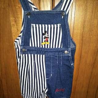 Mickey Kids Overalls