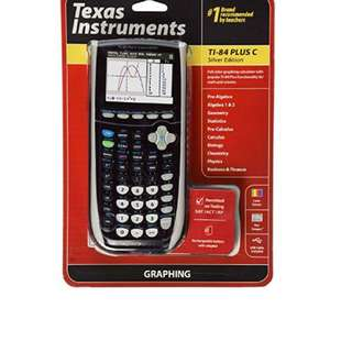 Graphing Calculator T1-84 Plus C Silver Edition