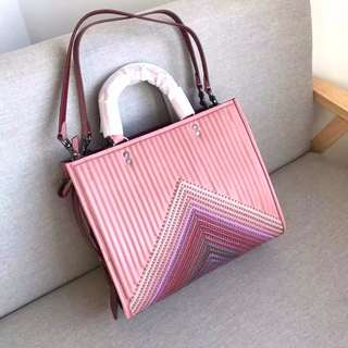 Coach Rogue With Colorblock Quilting & Rivets