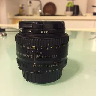 Nikon 50mm F1.8D used very good condition