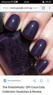 OPI Nail Lacquer - A Grape Affair