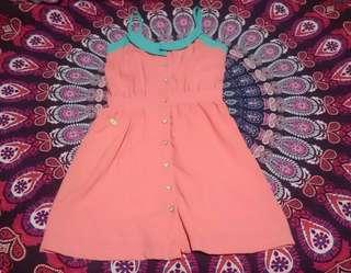 Candies Peach Dress