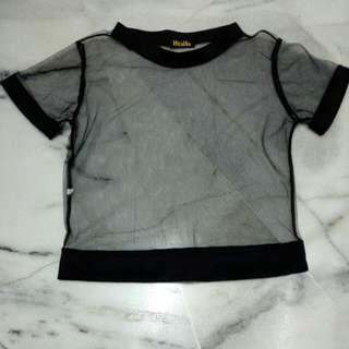 Transparent top