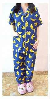 Piyama Jumbo Motif Banana (XL-XXL)