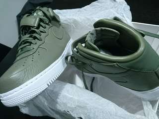 🚚 Limited Edition NikeLab Nike Air Force 1 Mid Urban Haze UK9.5 US10.5