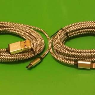 3米/3 m Quick charge  充電線