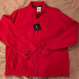 Polo cotton jacket