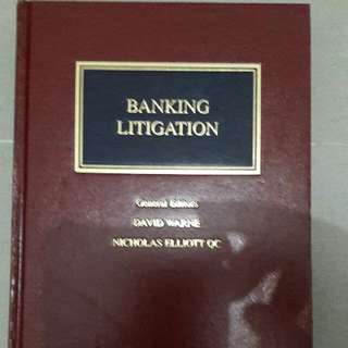 Law Book on Banking Litigation Second Edition
