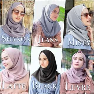 REPRICED Yana Instan Vanilla Hijab Instan