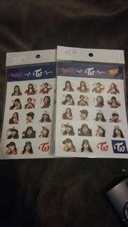 Yes Twice sticker