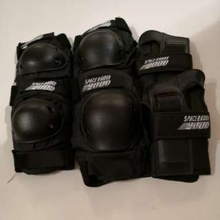 Elbow, Knee and Hand guards - complete set