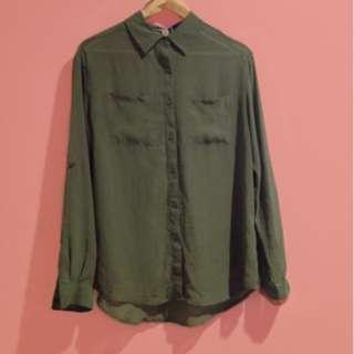 Chiffon Button down blouse