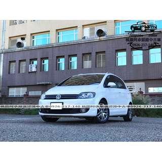 【FB搜尋桃園阿承】福斯 超人氣GOLF PLUS 2012年 1.4 白色 二手車 中古車