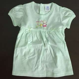 [New] Green Dress for 6 to 12 months
