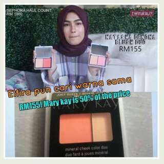 Cheek color duo Mary Kay