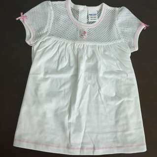 [New] White dress for 12 to 18 months