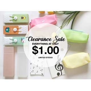 $1.00 FOR ALL PRODUCTS