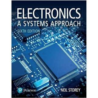 Electronics A Systems Approach 6th Edition