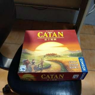 降價七百Catan 卡坦島 繁中 新天鵝堡正品 桌遊 約八成新