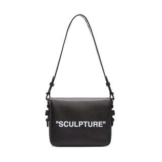 Off-White Black 'Sculpture' Binder Clip Bag