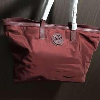 Brand New Tory Burch Nylon Tote Bag